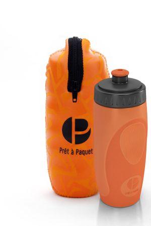 Prêt à Paquet steklenička z etuijem, 0,5 l, oranžna