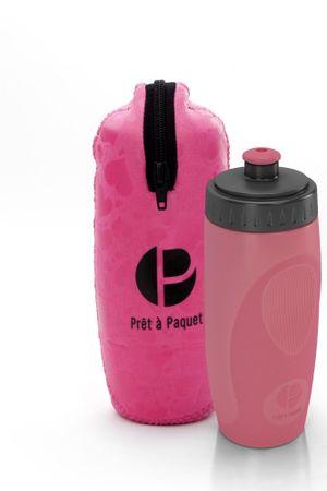 Prêt à Paquet steklenička z etuijem, 0,5 l, roza
