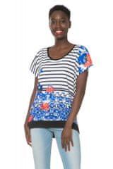 Desigual dámské tričko se vzory