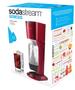 2 - Sodastream urządzenie do wody gazowanej Genesis czerwony/tytan