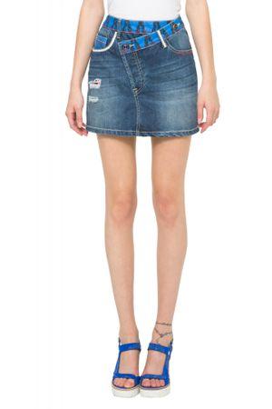 Desigual ženska suknja 34 plava