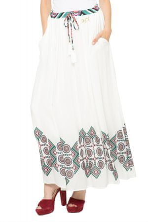 Desigual spódnica damska 38 biały