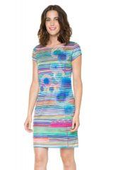 Desigual dámské proužkované šaty