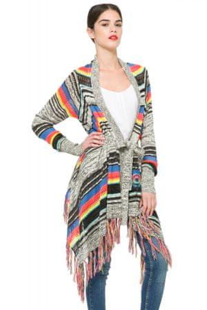 Desigual sweter damski M wielokolorowy
