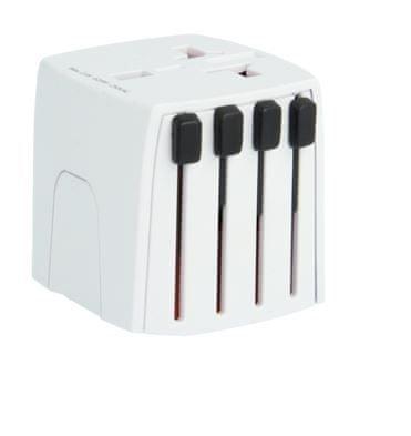 Skross potovalni adapter MUV micro, bel