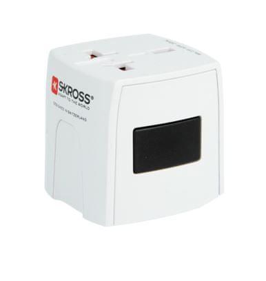 Skross Cestovní adaptér MUV Micro, 2,5 A max., univerzální pro 150 zemí PA42