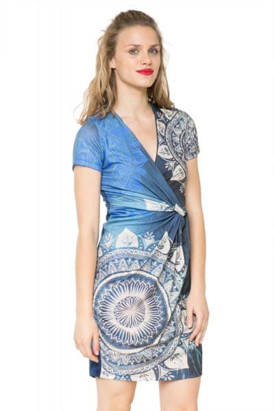 Desigual dámské šaty S modrá