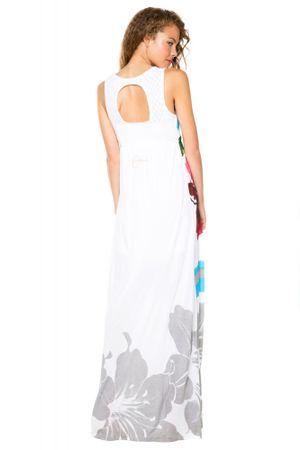 9626c529b5c Desigual dámské dlouhé šaty L bílá - Diskuze