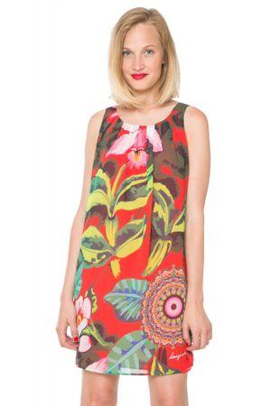 Desigual ženska obleka 38 večbarvna