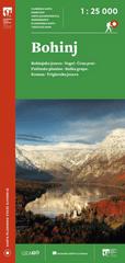 Bohinj - Planinska karta 1 : 25.000