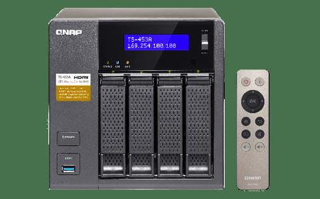 """Qnap NAS strežnik za štiri 2.5"""" diske TS-453A"""