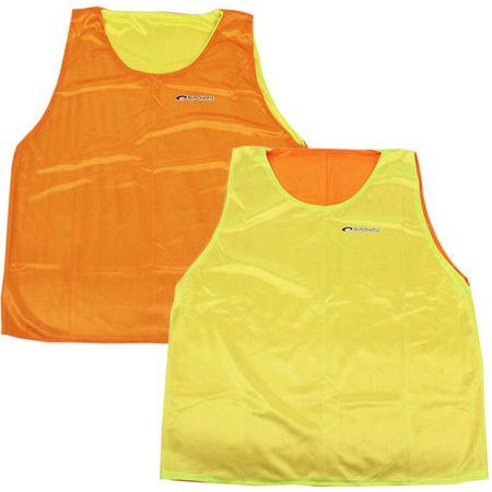 Spokey dres Shiny D, oranžen/rumen