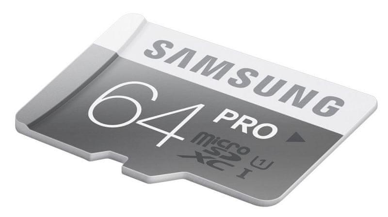 Samsung microSDXC 64GB UHS-I (class 10) PRO 90 MB/s (MB-MG64EA/EU)