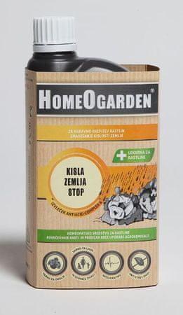 HomeOgarden sredstvo za zmanjševanje kislosti zemlje Kisla zemlja STOP, 750 ml