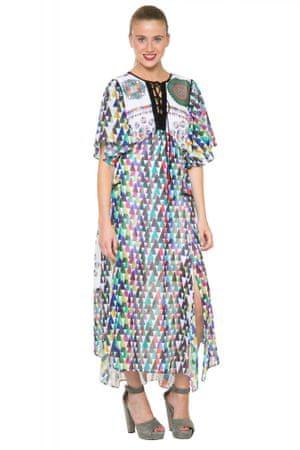 Desigual dámské vzorované šaty 42 vícebarevná