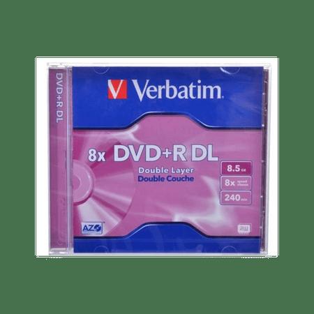 Verbatim DVD+R Dual Layer medij 8,5 GB, 8x JC-1