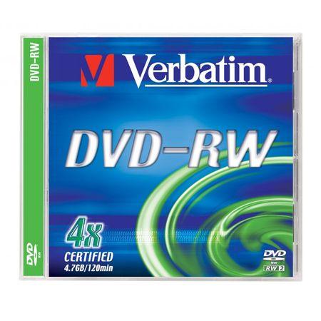 Verbatim DVD-RW medij 4,7 GB, 4x JC-1 Datalifeplus