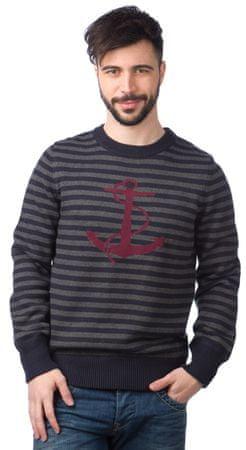 Nautica pánský svetr s kotvou XXL modrá