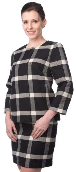 Nautica dámské sako na zip XL černá