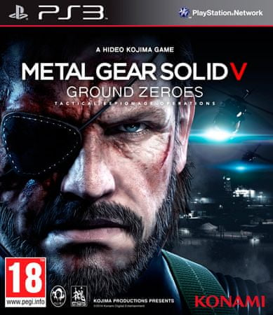 Konami Metal Gear Solid V: Ground Zeroes (PS3)