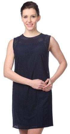Nautica dámské dírkované šaty XL modrá