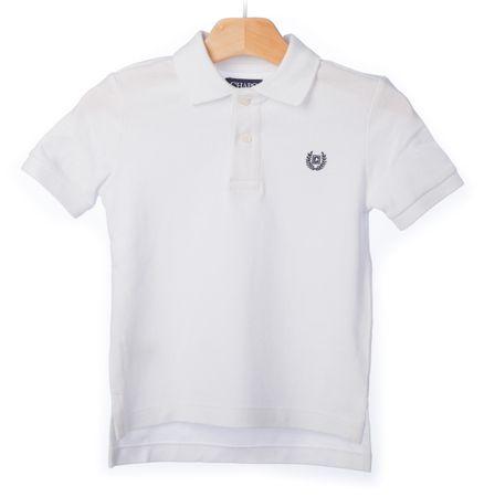 Chaps fiú galléros póló 128-134 fehér  39466ccfc7