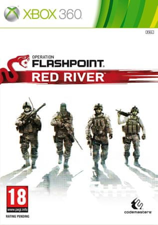 Codemasters Operation Flashpoint: Red River (Xbox 360)