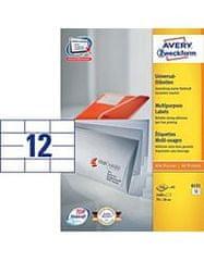 Avery Zweckform etikete 6131, 70 x 36 mm (A5)