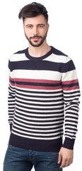 s.Oliver pánský svetr s proužky
