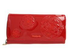 Desigual portfel damski czerwony