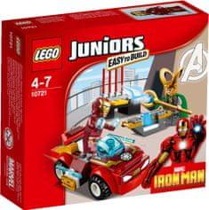 LEGO® JUNIORS: Iron Man protiv Lokija 10721