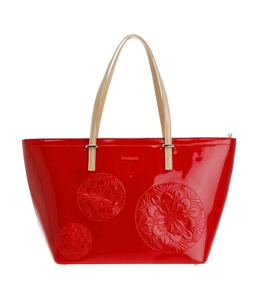 Desigual dámská lesklá kabelka červená uni