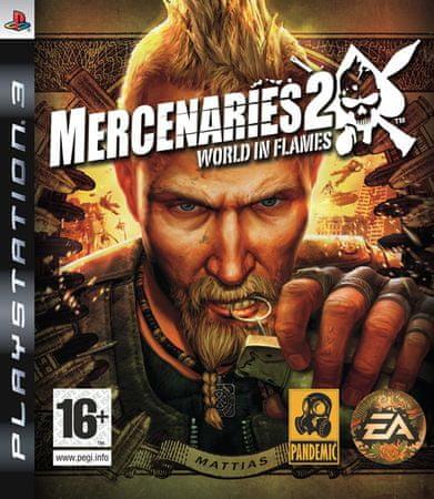 EA Games Mercenaries 2: World In Flames (PS3)