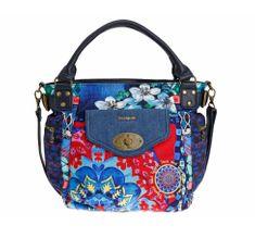 Desigual ženska ročna torbica modra