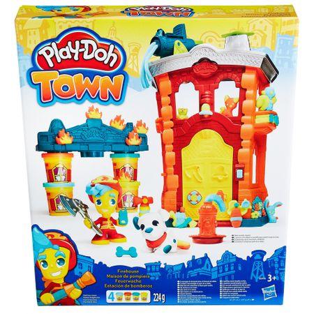 Play-Doh gasilska postaja Town