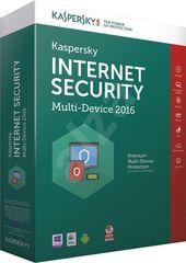 Kaspersky Internet Security - multi-device 2016 CZ 1PC + Android / 1rok