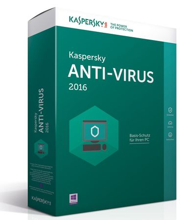 Kaspersky Anti-Virus 2016 CZ 4PC / 1rok
