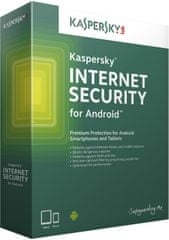 Kaspersky Internet Security ANDROID CZ / 1rok