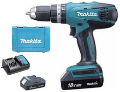 Makita HP457DWE 18V/1,3Ah s příklepem
