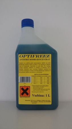 Optifreez antifriz modri koncentrat, 1L