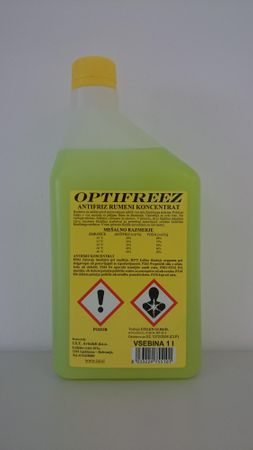 Optifreez antifriz rumeni koncentrat, 1L