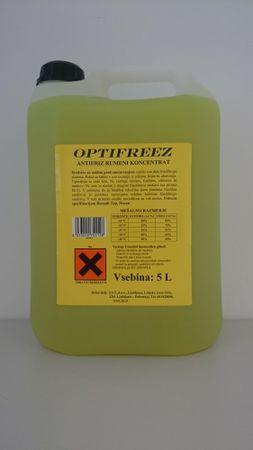 Optifreez antifriz rumeni koncentrat, 5L