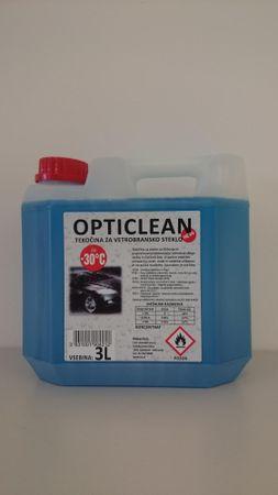 Opticlean tekočina za stekla -30 °C, 3L