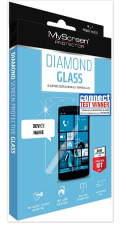 MyScreen Protector zaščitno kaljeno steklo Microsoft Lumia 640XL, Diamond Glass