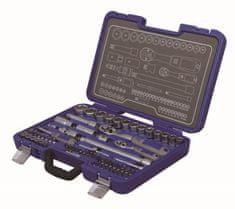 Michelin set natičnih ključev MSS-67-1/2-1/4, 67 kos