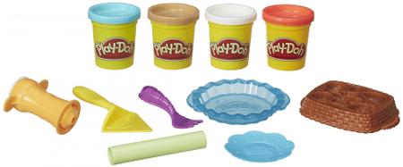 Play-Doh Játékos pitekészítő Gyurmaszett
