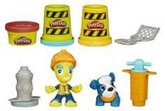 Play-Doh Town Útépítés Gyurmaszett