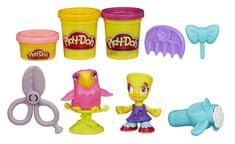 Play-Doh Town Fodrászat Gyurmaszett