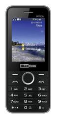 MaxCom MM136 czarno-srebrny