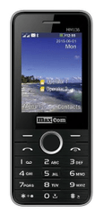 MaxCom mm136 Dual SIM czarny